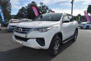 2019 Toyota Fortuner GUN156R GX White 6 Speed Automatic Wagon