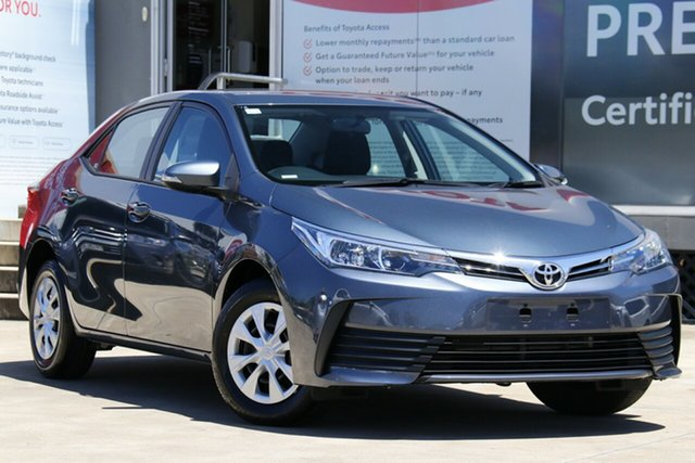 Pre-Owned Toyota Corolla ZRE172R Ascent S-CVT Guildford, 2019 Toyota Corolla ZRE172R Ascent S-CVT Moonlight 7 Speed Constant Variable Sedan