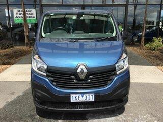 2017 Renault Trafic X82 MY17 LWB Blue 6 Speed Manual Van.