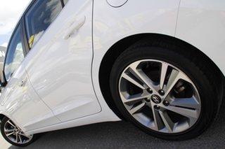 2017 Hyundai Elantra AD MY17 Elite Polar White 6 Speed Sports Automatic Sedan