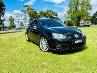 2008 Volkswagen Golf 1K MY08 Upgrade GT Sport TSI Black 6 Speed Direct Shift Hatchback.