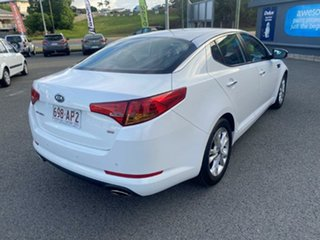 2011 Kia Optima TF MY12 SI White 6 Speed Sports Automatic Sedan.