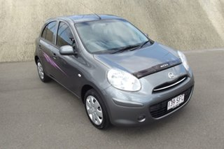 2011 Nissan Micra K13 ST-L Grey 4 Speed Automatic Hatchback.