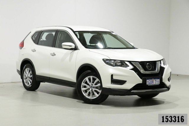 Used Nissan X-Trail T32 Series 2 ST 7 Seat (2WD) Bentley, 2019 Nissan X-Trail T32 Series 2 ST 7 Seat (2WD) Ivory Pearl Continuous Variable Wagon