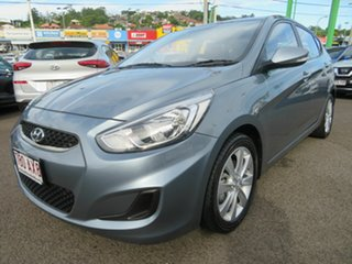 2019 Hyundai Accent RB6 MY19 Sport Grey 6 Speed Sports Automatic Hatchback.