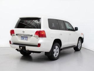 2013 Toyota Landcruiser VDJ200R MY12 VX (4x4) White 6 Speed Automatic Wagon