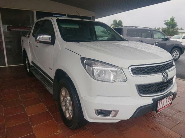 Pre-Owned Holden Colorado RG MY14 LTZ (4x4) Atherton, 2014 Holden Colorado RG MY14 LTZ (4x4) 6 Speed Automatic Crew Cab Pickup