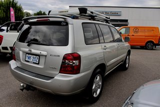 2007 Toyota Kluger GSU45R Grande AWD Silver 5 Speed Sports Automatic Wagon.