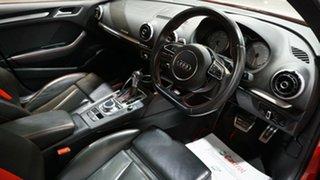 2015 Audi S3 8V MY15 S Tronic Quattro Red 6 Speed Sports Automatic Dual Clutch Sedan