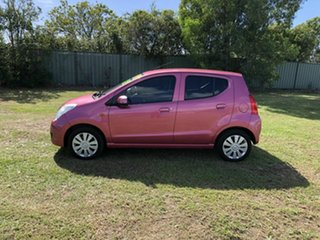 2013 Suzuki Alto GF GL Pink 5 Speed Manual Hatchback