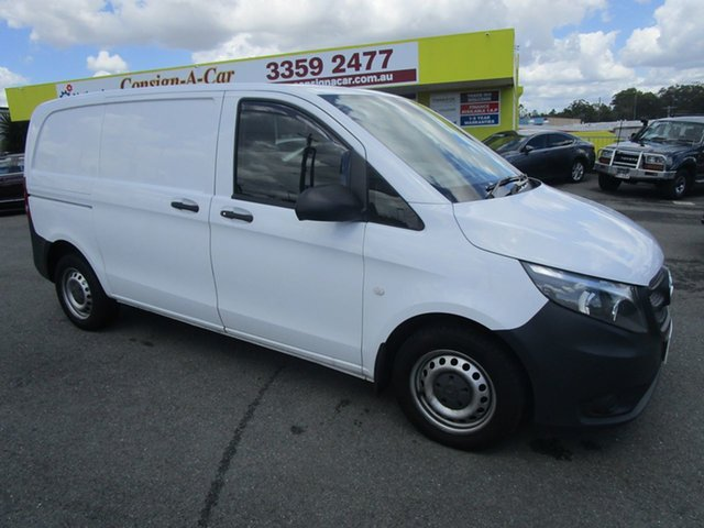 Used Mercedes-Benz Vito 639 MY14 116CDI SWB Kedron, 2015 Mercedes-Benz Vito 639 MY14 116CDI SWB White 5 Speed Automatic Van