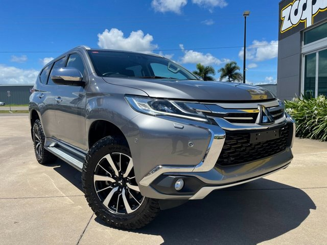 Used Mitsubishi Pajero Sport QE MY18 Exceed Townsville, 2018 Mitsubishi Pajero Sport QE MY18 Exceed Grey/290318 8 Speed Sports Automatic Wagon