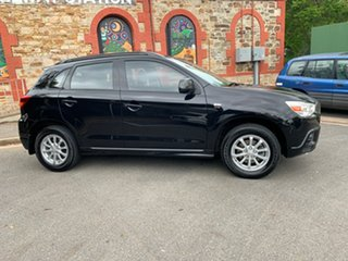 2011 Mitsubishi ASX XA MY12 2WD Black 6 Speed Constant Variable Wagon.