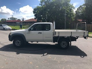 2007 Mazda BT-50 B3000 Freestyle DX+ White 5 Speed Manual Cab Chassis