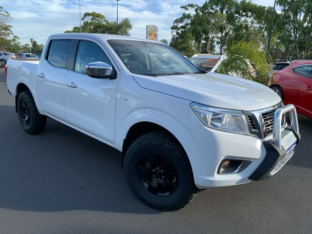 Used Nissan Navara D23 RX Bunbury, 2015 Nissan Navara D23 RX White 6 Speed Manual Utility