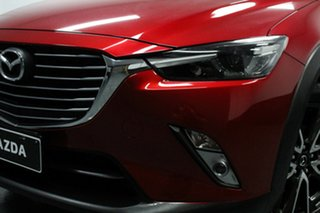 2015 Mazda CX-3 DK4W7A Akari SKYACTIV-Drive i-ACTIV AWD Red 6 Speed Sports Automatic Wagon.