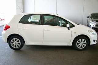 2008 Toyota Corolla ZRE152R Ascent White 6 Speed Manual Hatchback
