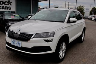 2020 Skoda Karoq NU MY20.5 110TSI FWD Candy White 8 Speed Automatic Wagon