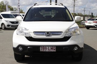 2008 Honda CR-V RE MY2007 Special Edition 4WD Taffeta White 5 Speed Automatic Wagon