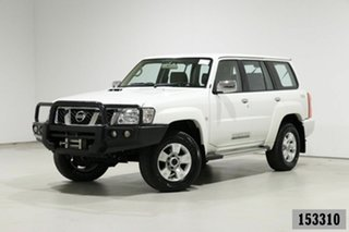 2016 Nissan Patrol GU Series 9 ST (4x4) Pearl White 5 Speed Manual Wagon
