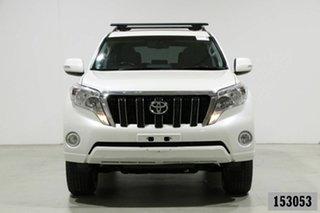 2014 Toyota Landcruiser Prado KDJ150R MY14 Altitude (4x4) White 5 Speed Sequential Auto Wagon.