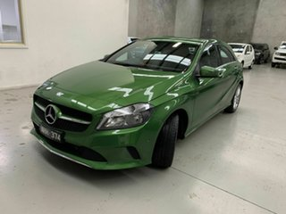 2015 Mercedes-Benz A-Class W176 806MY A180 D-CT Green 7 Speed Sports Automatic Dual Clutch Hatchback.