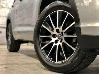 2018 Toyota Kluger GSU50R Grande 2WD Silver 8 Speed Sports Automatic Wagon