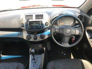 2012 Toyota RAV4 ACA38R MY12 CV 4x2 Red 4 Speed Automatic Wagon