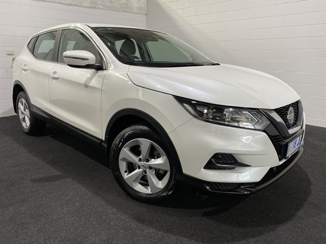 Used Nissan Qashqai J11 Series 2 ST X-tronic Glenorchy, 2019 Nissan Qashqai J11 Series 2 ST X-tronic Ivory Pearl 1 Speed Constant Variable Wagon