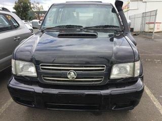 2002 Holden Jackaroo BL 10 Upgrade Neo Black 5 Speed Automatic Wagon.