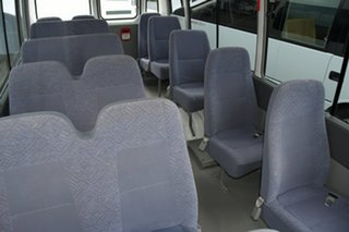 2014 Toyota Coaster White Automatic Bus