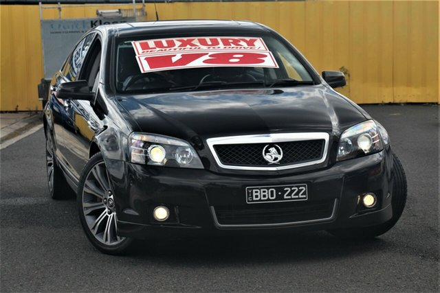 Used Holden Caprice WN MY14 V Cheltenham, 2013 Holden Caprice WN MY14 V Black 6 Speed Sports Automatic Sedan