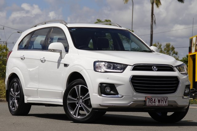 Used Holden Captiva CG MY16 LTZ AWD Rocklea, 2016 Holden Captiva CG MY16 LTZ AWD Summit White 6 Speed Sports Automatic Wagon