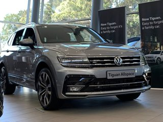 2020 Volkswagen Tiguan 5N MY20 162TSI Highline DSG 4MOTION Allspace Silver 7 Speed.