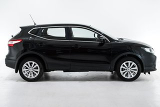 2014 Nissan Qashqai J11 ST Black 1 Speed Constant Variable Wagon