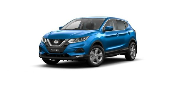 New Nissan Qashqai J11 Series 3 MY20 ST+ X-tronic Moorooka, 2020 Nissan Qashqai J11 Series 3 MY20 ST+ X-tronic Vivid Blue 1 Speed Constant Variable Wagon