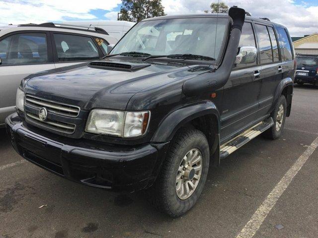 Used Holden Jackaroo BL 10 Upgrade Neo Traralgon, 2002 Holden Jackaroo BL 10 Upgrade Neo Black 5 Speed Automatic Wagon