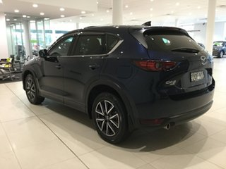 2017 Mazda CX-5 KF4WLA Akera SKYACTIV-Drive i-ACTIV AWD Deep Crystal Blue 6 Speed Sports Automatic