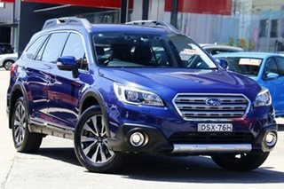 2017 Subaru Outback B6A MY18 3.6R CVT AWD Blue 6 Speed Constant Variable Wagon.