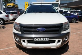 2014 Ford Ranger PX Wildtrak 3.2 (4x4) White 6 Speed Automatic Crew Cab Utility