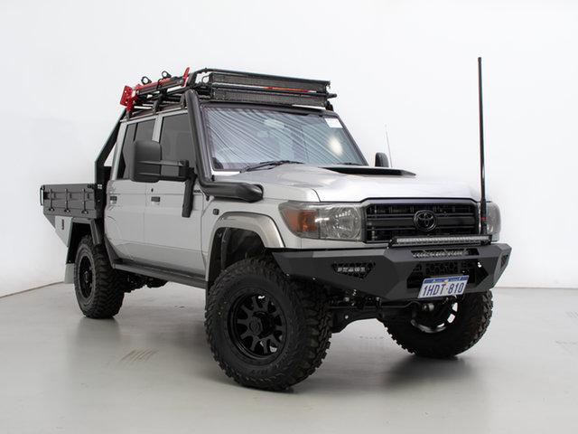 Used Toyota Landcruiser VDJ79R GXL (4x4), 2020 Toyota Landcruiser VDJ79R GXL (4x4) Silver 5 Speed Manual Double Cab Chassis
