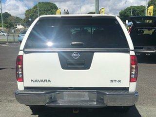 2009 Nissan Navara D40 ST-X White 5 Speed Automatic Utility