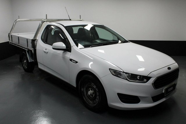 Used Ford Falcon FG X Super Cab Cardiff, 2015 Ford Falcon FG X Super Cab White 6 Speed Sports Automatic Cab Chassis