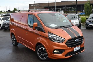 2019 Ford Transit Custom VN 2019.75MY 320S (Low Roof) Sport Orange Glow 6 Speed Automatic Van.