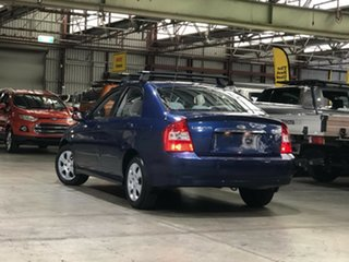 2005 Kia Cerato LD MY04 Blue 4 Speed Automatic Sedan