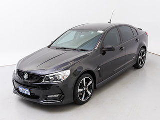 2016 Holden Commodore Vfii MY16 SV6 Black Edition Black 6 Speed Automatic Sedan