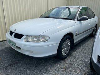 2001 Holden Commodore EXECUTIVE VX White Automatic + O/Drive Sedan.