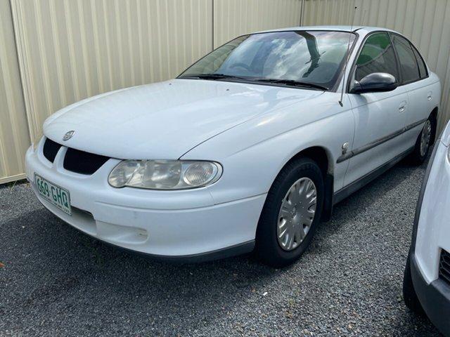 Used Holden Commodore Underwood, 2001 Holden Commodore EXECUTIVE VX White Automatic + O/Drive Sedan