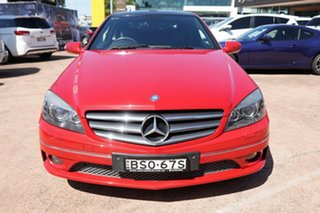 2010 Mercedes-Benz CLC-Class CL203 CLC200 Kompressor Red 5 Speed Automatic Coupe