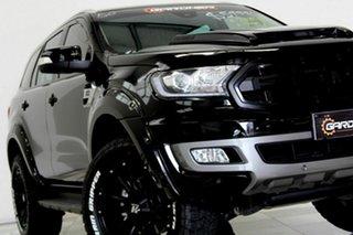 2018 Ford Everest UA II MY19 Trend (RWD 7 Seat) Black 10 Speed Auto Seq Sportshift SUV.